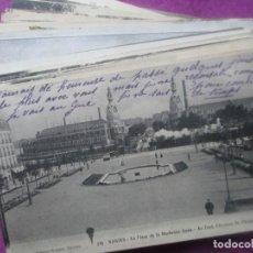Postales: LOTE 68 POSTALES, FRANCIA, NANTES, PARIS, ANGERS,. Lote 102199627
