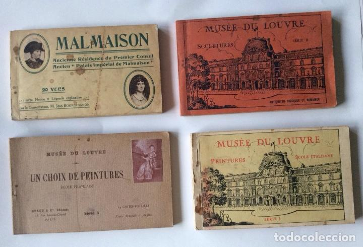 álbunes de postales malmaison musée du louv comprar postales