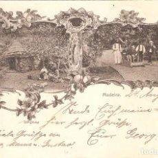 Postales: PORTUGAL MADEIRA 1902 LITOGRAFÍA. Lote 102717367