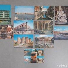 Postales: LOTE DE 11 POSTALES DE ITALIA AÑOS 60 70 Y 80 CASI TODAS CIRCULADAS. Lote 102917079