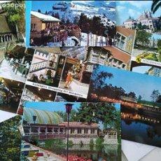 Postales: LOTE DE 12 POSTALES CIUDADES EUROPEAS, AÑOS 60-70. Lote 103124527