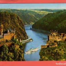 Postales: 4780 ALEMANIA DEUTSCHLAND ALLEMAGNE GERMANY RHENANIE PALATINAT DIE LORELEY A. RH DAS FELSENTAL DER L. Lote 103166223