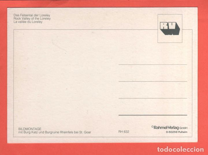 Postales: 4780 Alemania Deutschland Allemagne Germany Rhenanie Palatinat Die Loreley a. Rh Das Felsental der L - Foto 2 - 103166223