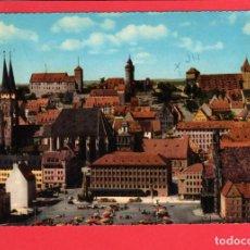 Postales: 4783 ALEMANIA DEUTSCHLAND ALLEMAGNE GERMANY NÜRNBERG BLICK ÜBER DIE ALTSTADT AUF DIE BURG. Lote 103166783