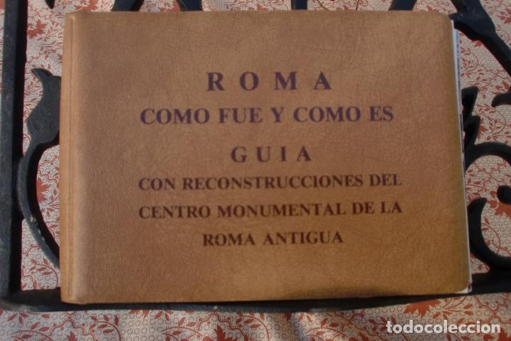 TRANSPARECIAS POSTALES ROMA CURIOSO ALBUM AÑO 1962 . MONUMENTOS.VER DESCRIPCION Y FOTOS.RAREZA (Postales - Postales Extranjero - Europa)