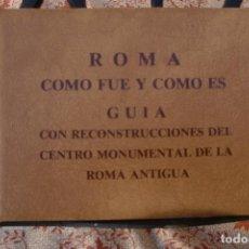 Postales: TRANSPARECIAS POSTALES ROMA CURIOSO ALBUM AÑO 1962 . MONUMENTOS.VER DESCRIPCION Y FOTOS.RAREZA. Lote 103225615