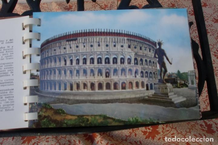 Postales: TRANSPARECIAS POSTALES ROMA CURIOSO ALBUM AÑO 1962 . MONUMENTOS.VER DESCRIPCION Y FOTOS.RAREZA - Foto 3 - 103225615