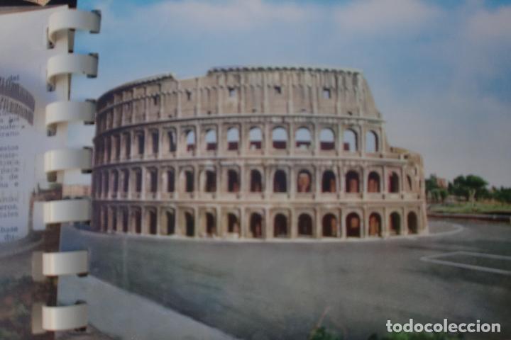 Postales: TRANSPARECIAS POSTALES ROMA CURIOSO ALBUM AÑO 1962 . MONUMENTOS.VER DESCRIPCION Y FOTOS.RAREZA - Foto 4 - 103225615