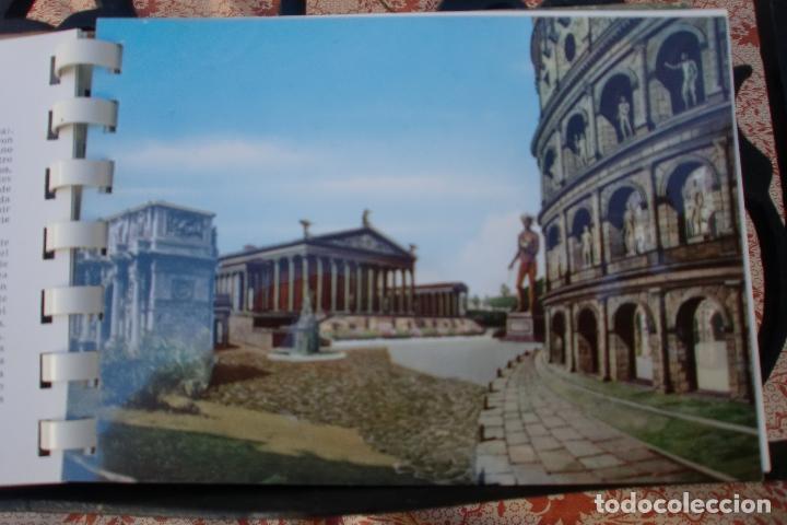 Postales: TRANSPARECIAS POSTALES ROMA CURIOSO ALBUM AÑO 1962 . MONUMENTOS.VER DESCRIPCION Y FOTOS.RAREZA - Foto 5 - 103225615