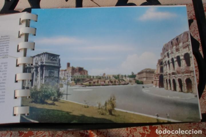 Postales: TRANSPARECIAS POSTALES ROMA CURIOSO ALBUM AÑO 1962 . MONUMENTOS.VER DESCRIPCION Y FOTOS.RAREZA - Foto 6 - 103225615
