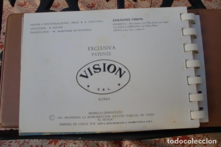 Postales: TRANSPARECIAS POSTALES ROMA CURIOSO ALBUM AÑO 1962 . MONUMENTOS.VER DESCRIPCION Y FOTOS.RAREZA - Foto 7 - 103225615