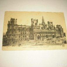 Cartoline: PARIS 18, L' HOTEL DE VILLE . ESCRITA 1924. Lote 103784283