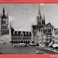 Postales: 4932 BELGIQUE BELGIE BELGIUM FLANDRE OCCIDENTALE IEPER YPRES YPER DE HALLEN LES HALLES. Lote 103986163