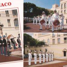 Postales: POSTAL RELEVO DE LA GUARDIA. MONACO. Lote 103986343