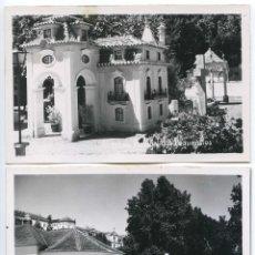 Postales: COIMBRA. PORTUGAL DOS PEQUENITOS. DOS POSTALES FOTOGRÁFICAS FECHADAS EN 1955. Lote 103986587