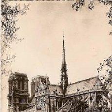 Postales: FRANCIA & CIRCULADO, NOTRE DAME, RUE LA BOETIE, PARIS, LISBOA 1963 (531). Lote 104276131