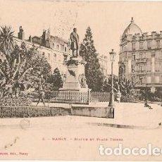 Postales: FRANCIA & CIRCULADO, PLACE THIERS, NANCY, COIMBRA PORTUGAL 1903 (8). Lote 104276379