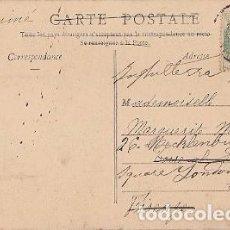 Postales: FRANCIA & CIRCULADO, NEVERS, PUENTE FERROVIARIA, FIRENZE ITALIA 1905 (3556). Lote 104279651