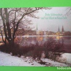 Postales: 5035 ALEMANIA DEUTSCHLAND ALLEMAGNE GERMANY HAMBURGO HAMBURG AN DER BINNENALSTER. Lote 104322479