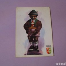 Postales: POSTAL DE BÉLGICA. MANNEKEN PIS DE TIROLES. CIRCULADA. ED. DELTA. AÑOS 60.. Lote 104325551