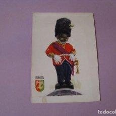 Postales: POSTAL DE BÉLGICA. MANNEKEN PIS DE GUARDIA GALES. SIN CIRCULAR. ED. DELTA. AÑOS 60.. Lote 104325679
