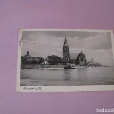 Postales: POSTAL DE ALEMANIA. EMMERICH AM RHEIN. CIRCULADA CON SELLO DEUTSCHES REICH. 1939.. Lote 104326739