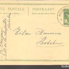 Postales: TARJETA POSTAL BELGICA,1919.. Lote 104331567
