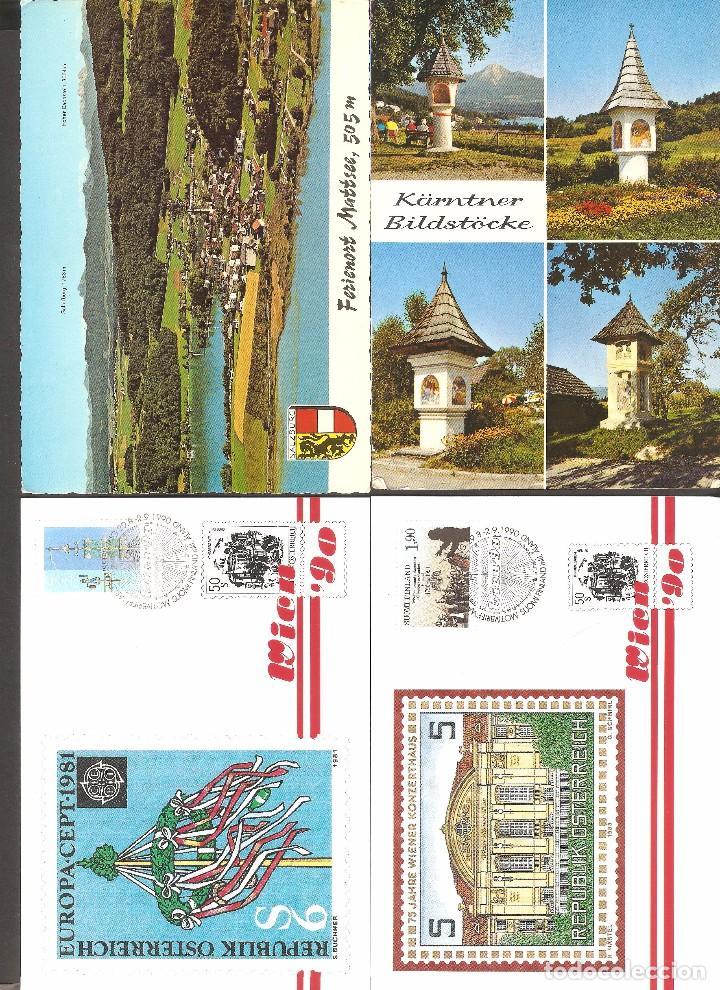 LOTE 4 TARJETAS POSTALES AUSTRIA (Postales - Postales Extranjero - Europa)