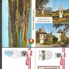 Postales: LOTE 4 TARJETAS POSTALES AUSTRIA. Lote 104535087