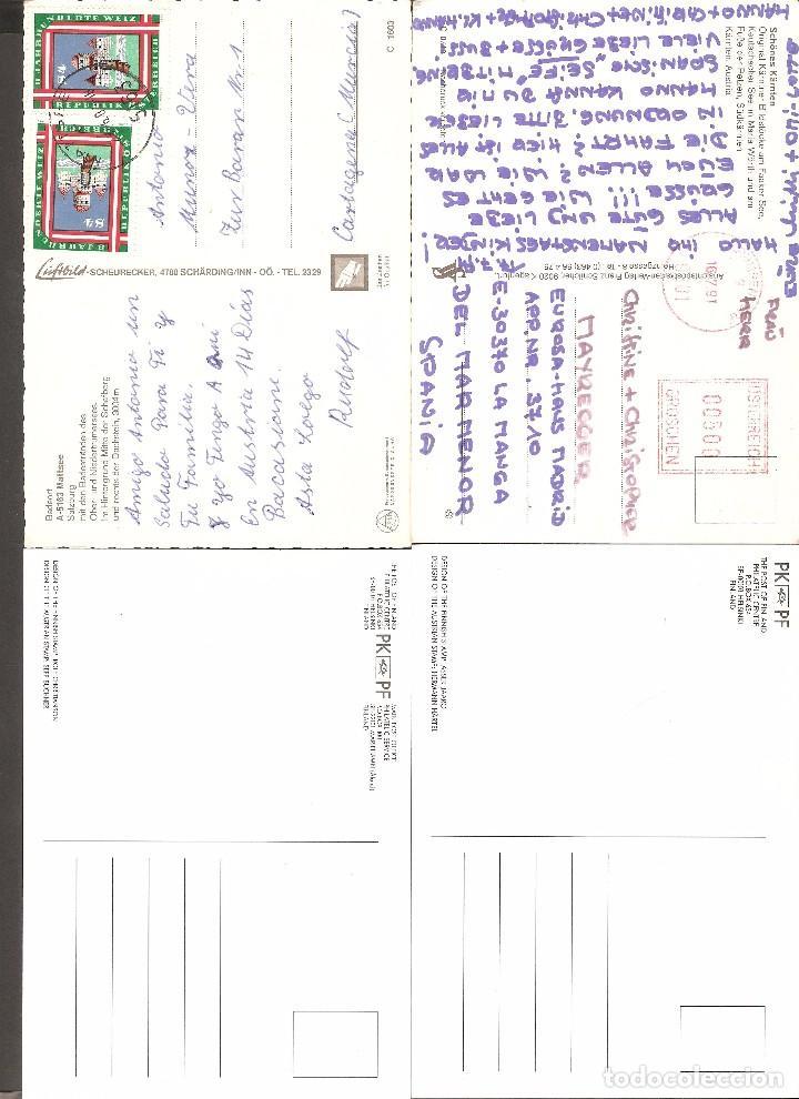 Postales: LOTE 4 TARJETAS POSTALES AUSTRIA - Foto 2 - 104535087
