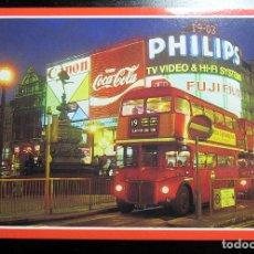 Postales: POSTAL POST CARD CARTE POSTALE LONDON PICCADILLY CIRCUS LONDRES GRAN BRETAÑA INGLATERRA. Lote 104642435