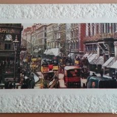 Postales: POSTAL LONDRES LONDON CHEAPSIDE EDIC RAPHAEL TUCK & SONS MUY ANIMADA. MARCO EN RELIEVE. Lote 104761675