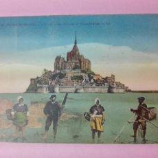 Postales: POSTAL FRANCIA MONT ST. MICHEL. Lote 105101400