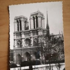 Postales: PARIS, CATEDRAL NOTRE-DAME. FRANCIA CIRCULADA. Lote 105233895