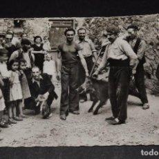 Postales: ANDORRA. ANTIGUA POSTAL CAÇADORS DE CINGLARS. Lote 105646179