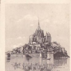 Postales: FRANCIA MONT SAINT MICHEL 1946 POSTAL CIRCULADA . Lote 105890543