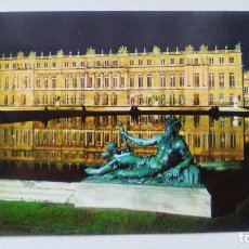 Postales: POSTAL DE VERSAILLES. THE PALACE AND WATER PARTERRE, BY NIGHT. Nº 439. Lote 105891483