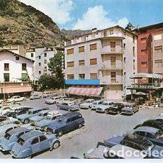 Postales: ANDORRA LA VELLA HOTEL CONSUL. SIN CIRCULAR. Lote 106090791