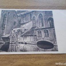 Postales: BRUGGE. BRUGES. HOPITAL ST.JEAN CIRCULADA. 1957. Lote 106742011