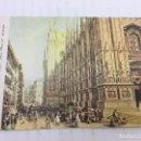 Postales: POSTAL SIN CIRCULAR DE MILAN - LUIGI BARTEZZATI , MILANO - PIAZZA DEL DUOMO. Lote 106907455