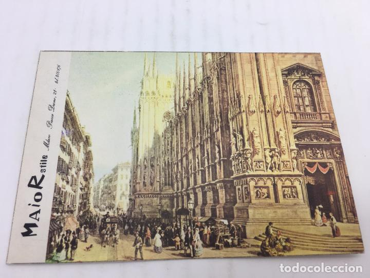 POSTAL SIN CIRCULAR DE MILAN - LUIGI BARTEZZATI , MILANO - PIAZZA DEL DUOMO (Postales - Postales Extranjero - Europa)