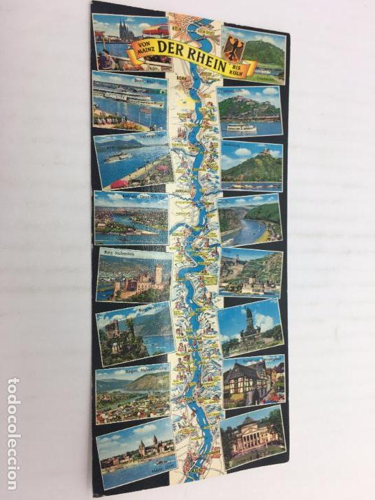 POSTAL SIN CIRCULAR DE ALEMANIA - VON MAINZ DER RHEIN BIS KOLN (Postales - Postales Extranjero - Europa)