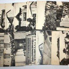 Postales: LOTE DE 21 ANTIGUAS POSTALES DE MONTPELLIER. FRANCIA. VARIAS VISTAS DE LA CIUDAD. SIN CIRCULAR. Lote 107187783