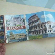 Postales: ACORDEON CON 18 POSTALES DE ROMA ( ITALIA ) , AÑOS 60. Lote 108462783
