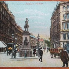 Postales: POSTAL LONDRES LONDON HOLBORN VIADUCT COCHES DE CABALLOS ENGLAND GREAT BRITAIN PEFECTA CONSERV. Lote 108777779