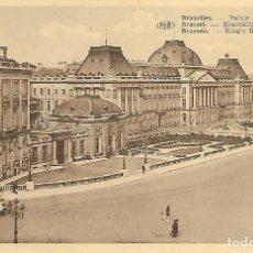 Postales: BRUXELLES (BELGICA) PALAIS DU ROI. Lote 108879699