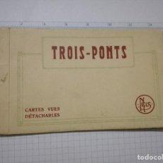 Postales: ANTIGUA LIBRO 6 POSLALES (NO ACORDEON) POSTAL - BELGICA - LIEJA, TROIS PONTS. Lote 108926035
