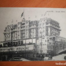 Postales: POSTAL / ITALIA,GENOVA,GRAND HOTEL MIRAMARE. Lote 109002159