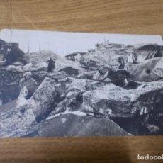 Postales: FORT DE LONCIN- PARTIE DES RUINES DU MASSIF CENTRAL.. CIRCULADA.. Lote 109186739