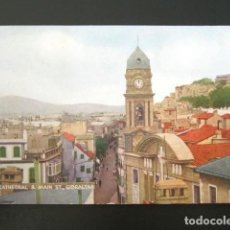 Postales: POSTAL GIBRALTAR. CATEDRAL. CIRCULADA POR AIRE. BY AIR MAIL. . Lote 109237331